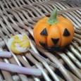 ハロウィンかぼちゃと飴